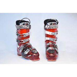 CHAUSSURES DE SKI Chaussures de ski occasion Atomic hawx 85 rouge-bl