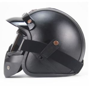 Casque Moto Vintage Integral