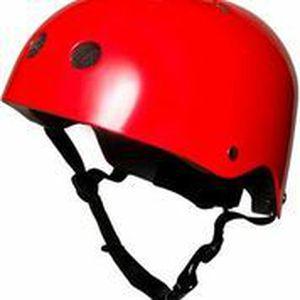 CASQUE MOTO SCOOTER Casque Helmets - Metallic Red Medium