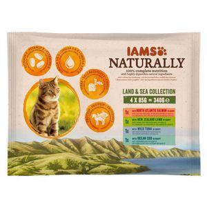 BOITES - PATÉES IAMS Naturally Nourriture humide pour chat adulte