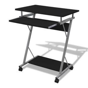 TABLE DE RÉUNION Table de bureau noire pour ordinateur
