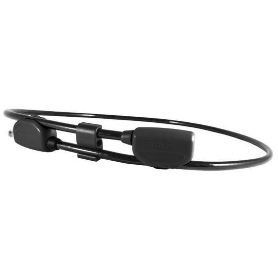 Vélo Câble Antivol ABUS 6615K Microflex 85 Cm Noir Bicyclette Sécurité Câble en Acier