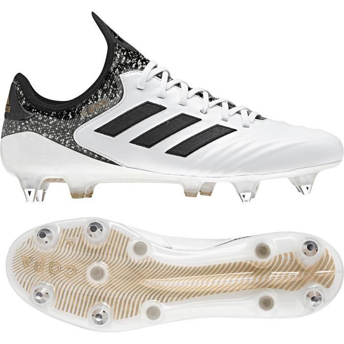 Chaussures de football adidas Copa 18.1 SG - blanc/noir/gris - 40