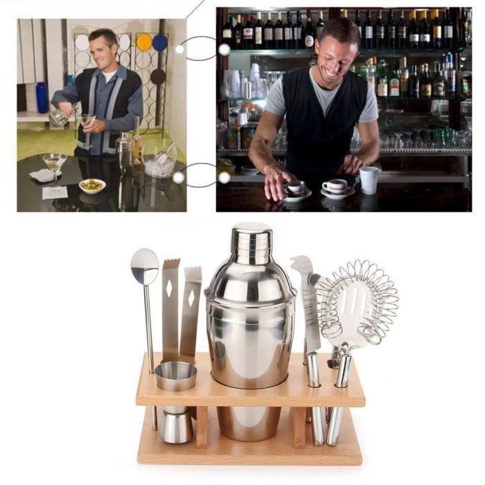 550ML kit de shaker à cocktail, Mélangeur à cocktail
