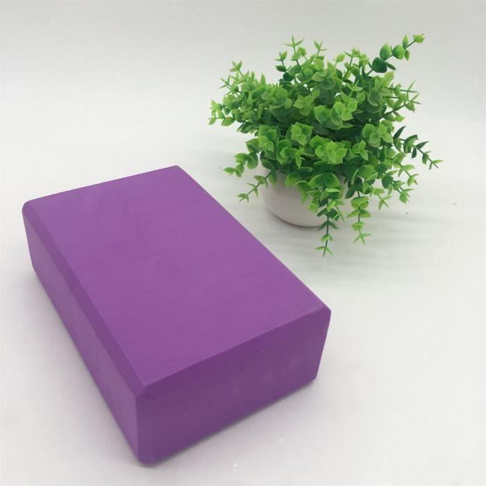 Le pack de 2 briques de yoga et la brique de yoga en mousse EVA haute densité peuvent soutenir et approfondir @466