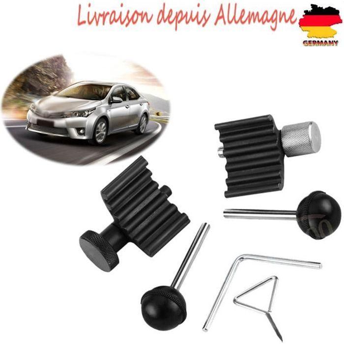 6pcs Outil calage moteur courroie distribution Kit moteur Arbre à cames pour moteurs diesel pour VW Audi 1.2 1.4 1.9 2.0 TDI