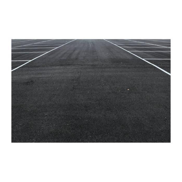 Protection sol et rénovation parking antidérapant 12 Kg Noir