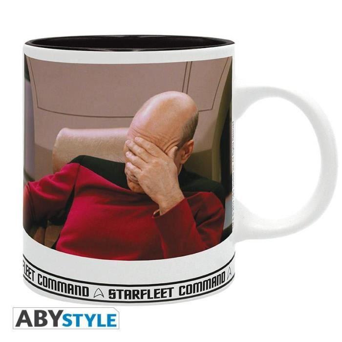STAR TREK - Mug 320 ml - Facepalm - Subli