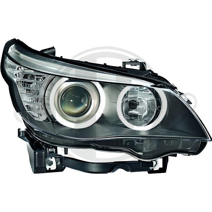 1224283 Feu phare gauche ( cote conducteur ) pour BMW Serie 5 de type E60 - E61 de 2007 a 2009 Look Origine