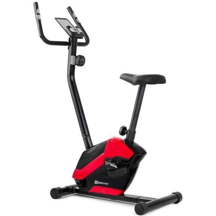 HS Hop-Sport Vélo d'appartement HS-045H EOS, Capteur cardiaque, Porte-tablette Charge max. 120 kg
