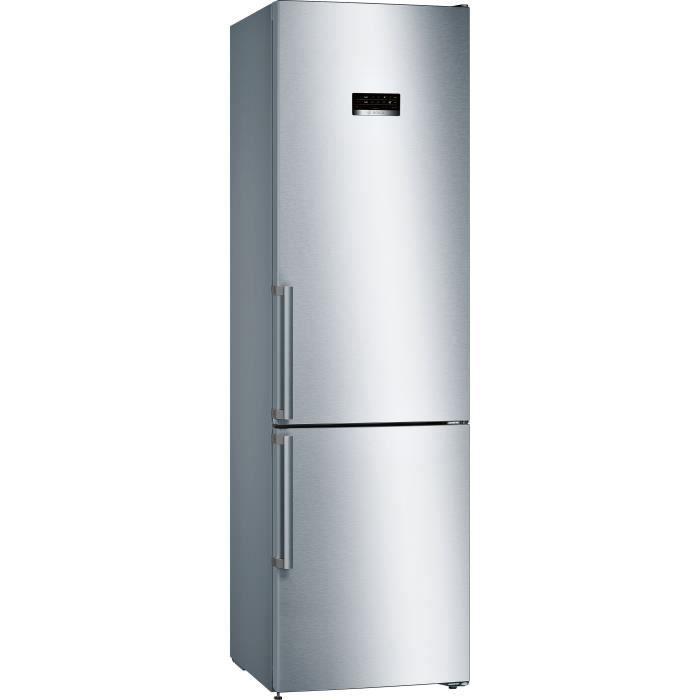BOSCH - KGN393IEQ - Réfrigérateur combiné - 366L (279 + 87) - NoFrost MultiAirFlow - A++ - L60cm x H203cm - Inox