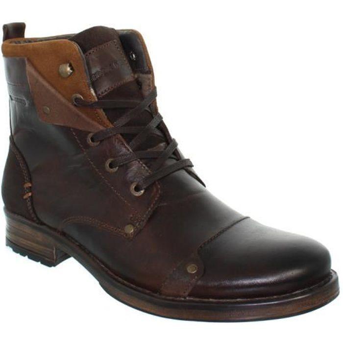 Boots Redskins Ydes en cuir ref_cle39794