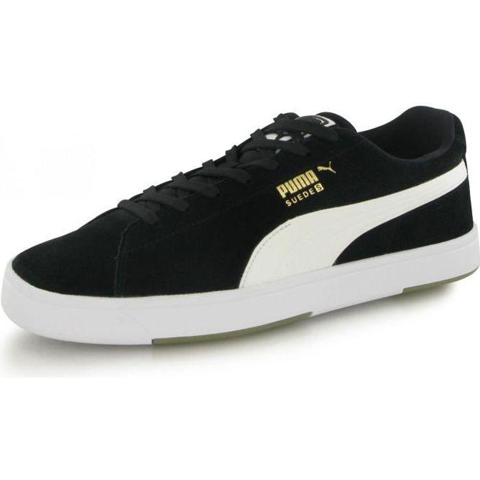 Puma Suede S noir, baskets mode homme