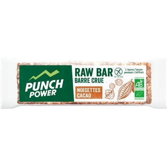 PUNCH POWER Raw Bar Noisettes cacao cru - Barres 35 g