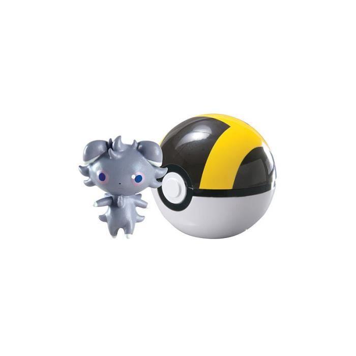 Pokemon : Poke Ball XY Clip n'Carry Psystigri et Hyper Ball Taille Unique Coloris Unique