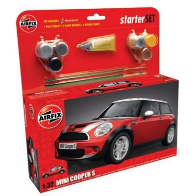 bmw mini cooper s starter set achat vente voiture construire cdiscount. Black Bedroom Furniture Sets. Home Design Ideas