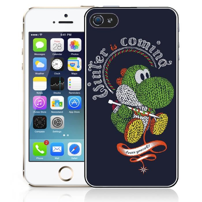 Coque iPhone 5C Yoshi Winter is Coming