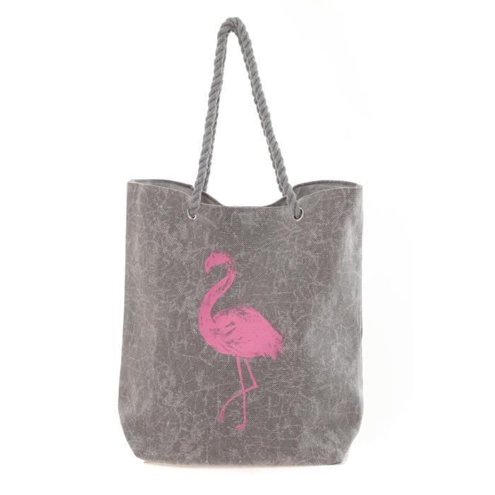 Sac U Portés Main Flamingo Gris Sacs X8nPONwk0