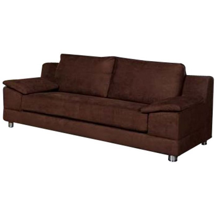 Canapé 3 places Switsofa Country Chocolat Achat Vente