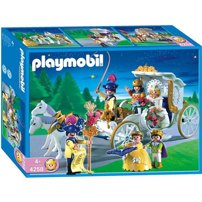 UNIVERS MINIATURE Playmobil Mariés Carrosse