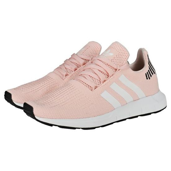 Adidas Swift Run W Femme Baskets Rose clair - 8 UK Rose ...