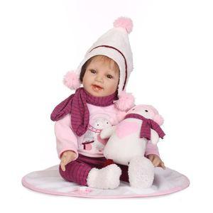 POUPÉE Réaliste bébé poupée 55 cm nouveau-né poupée enfan