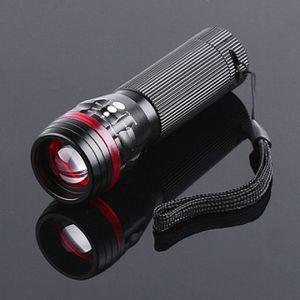 LAMPE DE POCHE Puissant 3500 Lumens Zoomable CREE XML T6 LED 1865