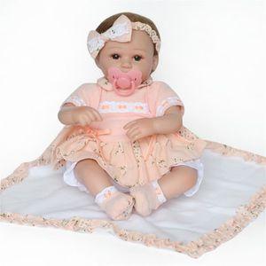 POUPÉE Bébé Reborn réaliste poupée 50cm poupée nouveau-né