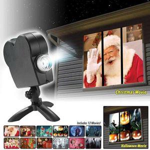 Video projecteur laser noel