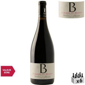 VIN ROUGE Domaine de Briante Brouilly Baronne Rouge 2013