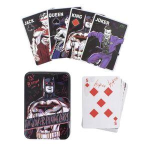 CARTES DE JEU DC COMICS - The Joker - Carte de Jeu à Jouer - 52