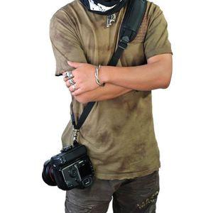 SANGLE - DRAGONNE Caméra Rapide épaule ceinture noire sangle Sling P