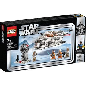 ASSEMBLAGE CONSTRUCTION LEGO Star Wars™ 75259 Snowspeeder™ – Édition 20ème
