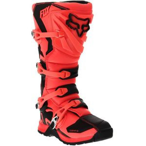 CHAUSSURE - BOTTE Bottes Motocross Fox 2017 Comp 5 Orange