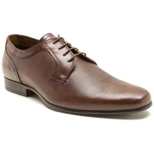 DERBY Red Tape Hammes Harston Marron Classic 4 Eyelet Pl