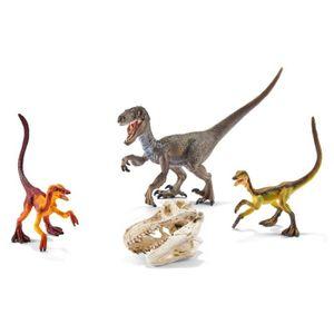 ACCESSOIRE DE FIGURINE SCHLEICH Figurine Dinosaure Le Vélociraptor en Ple