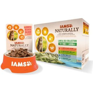 BOITES - PATÉES IAMS Naturally Nourriture humide pour chat adulte