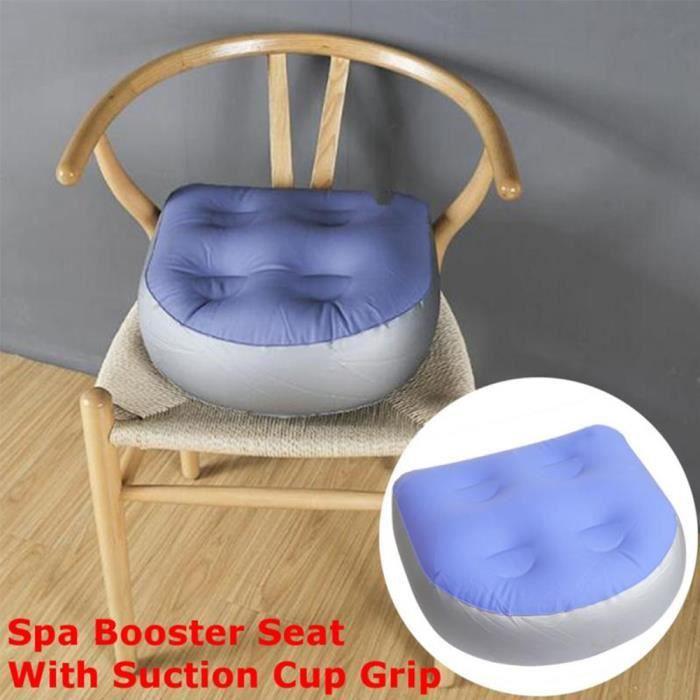 Coussin gonflable de Coussin de Spa de spa de siège d'appoint avec ventouse pour enfants adultes
