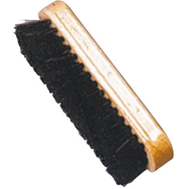 Brosse polissoir à chaussures bois verni