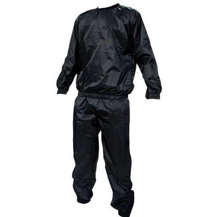 Kabalo Noir costume de sauna, pour l'exercice et la perte de poids - anti-déchirure et du matériel de qualité professionnelle - A...