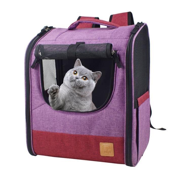 Sac de transport,Sac à dos de voyage respirant pour chat Sac à bandoulière en maille pour animal de compagnie, sac - Type 1-L