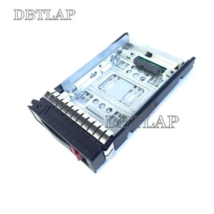 Nouveau pour HP 2.5- SSD TO 3.5- SATA Converter disque dur Plateau Caddy 654540-001 + 373211-001