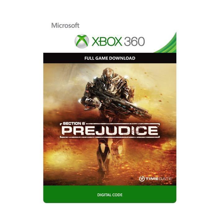Section 8 : Prejudice Jeu Xbox 360 à télécharger