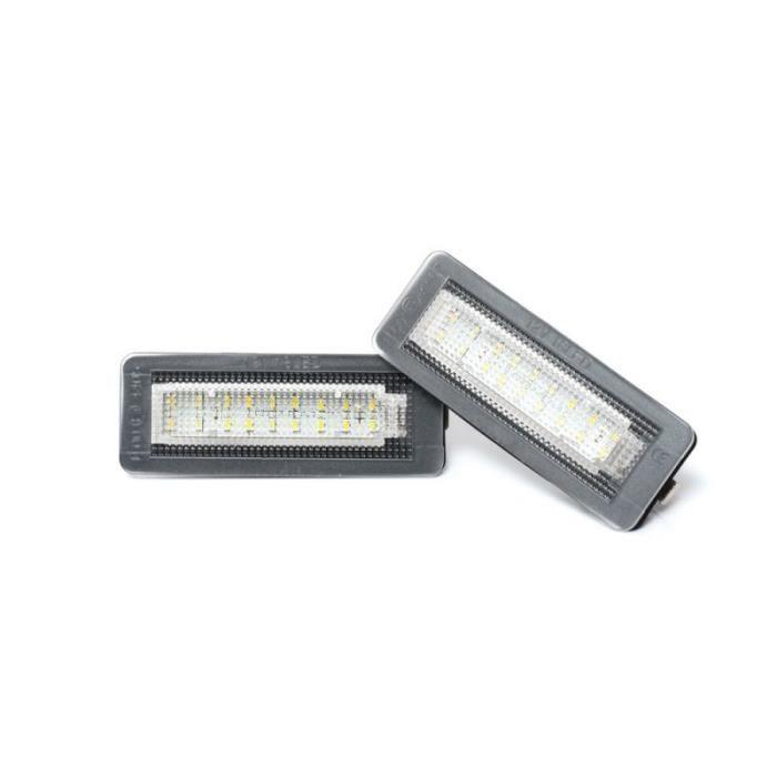 Pour Smart Fortwo Coupé Cabriolet Éclairagse Feux Plaque D'immatriculation LED