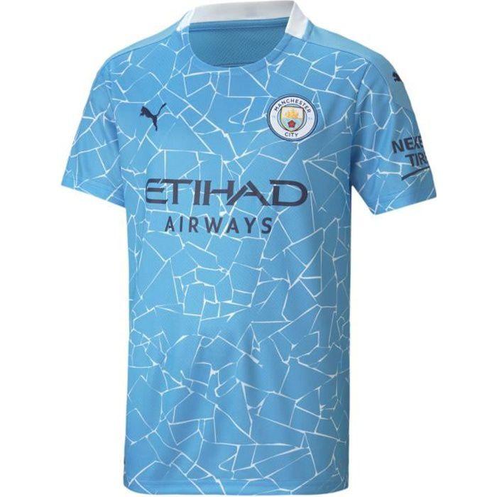Maillot domicile junior Manchester City 2020/21