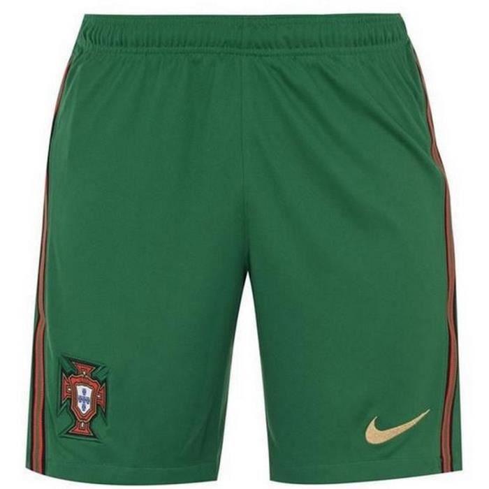 Nouveau Short Officiel de Football Homme Nike Portugal Domicile Euro 2020