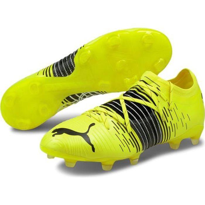 Chaussures de football Puma Future Z 2 1 FG/AG - jaune fluo/noir/blanc - 44