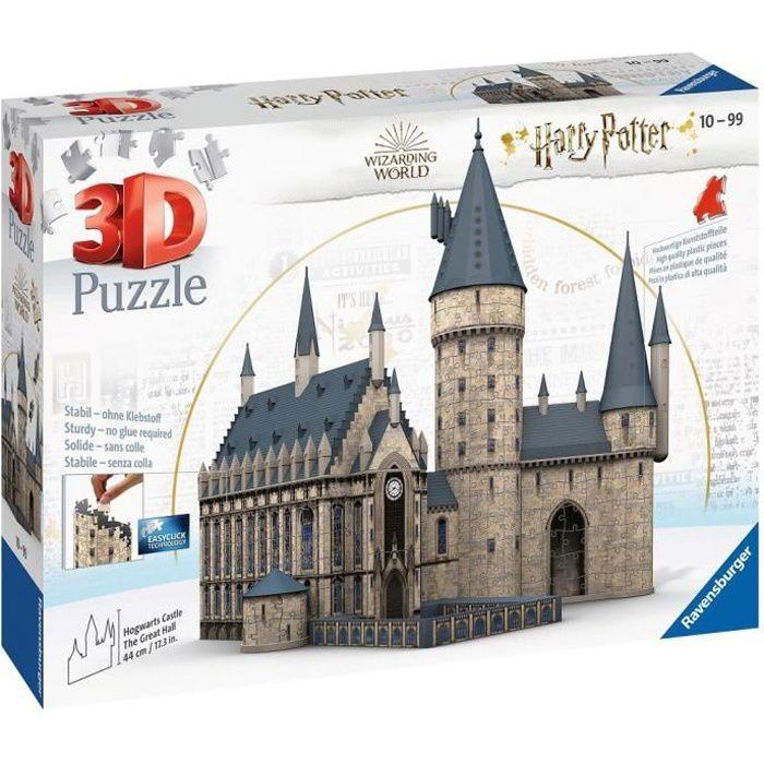 HARRY POTTER Puzzle 3D Château de Poudlard - Ravensburger - Monument 540 pièces - sans colle - Dès 10 ans