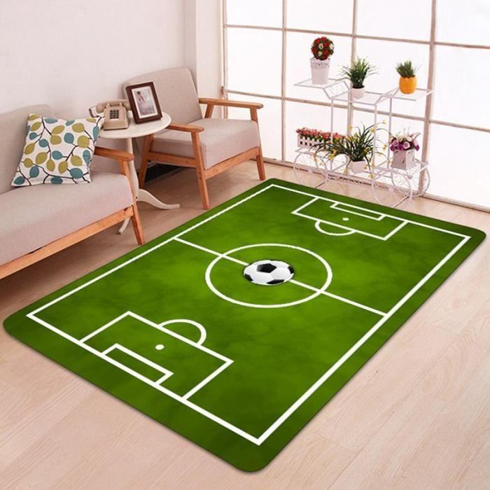 Tapis de Jeu de Tapis de Lecture de Tapis de BéBé de Tapis de Tapis de la Couverture 3D de Tapis de Football de 3D pour la Maison