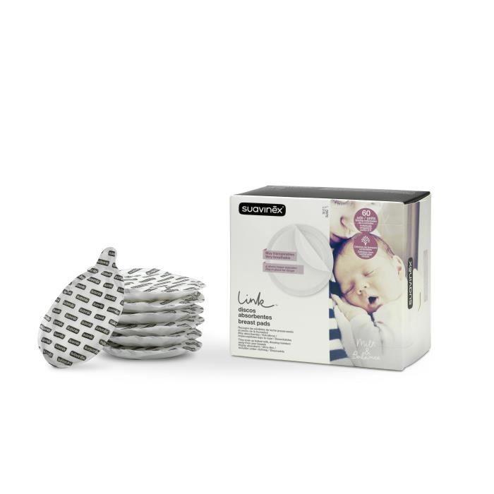 SUAVINEX Coussinets d'allaitement - 60 unités
